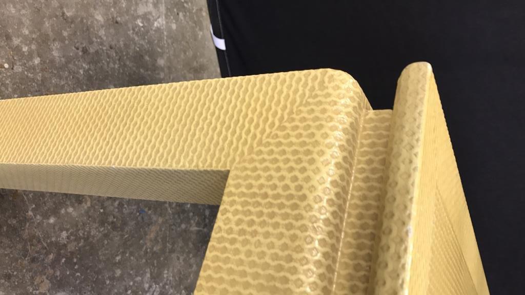 Mid Century Modern Textured Table - 9