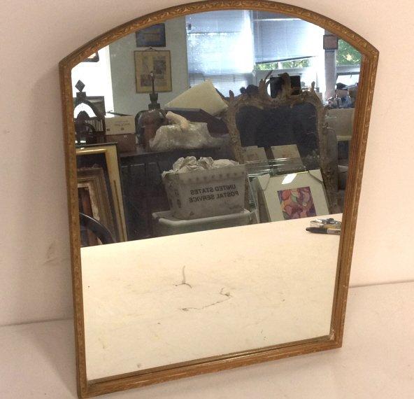 Vintage Gold Painted Framed Mirror
