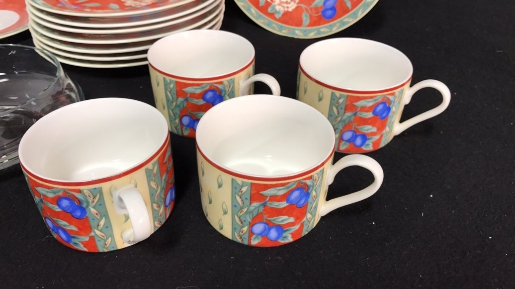 Partial Collection PTS INTERNATIONAL Porcelain - 4