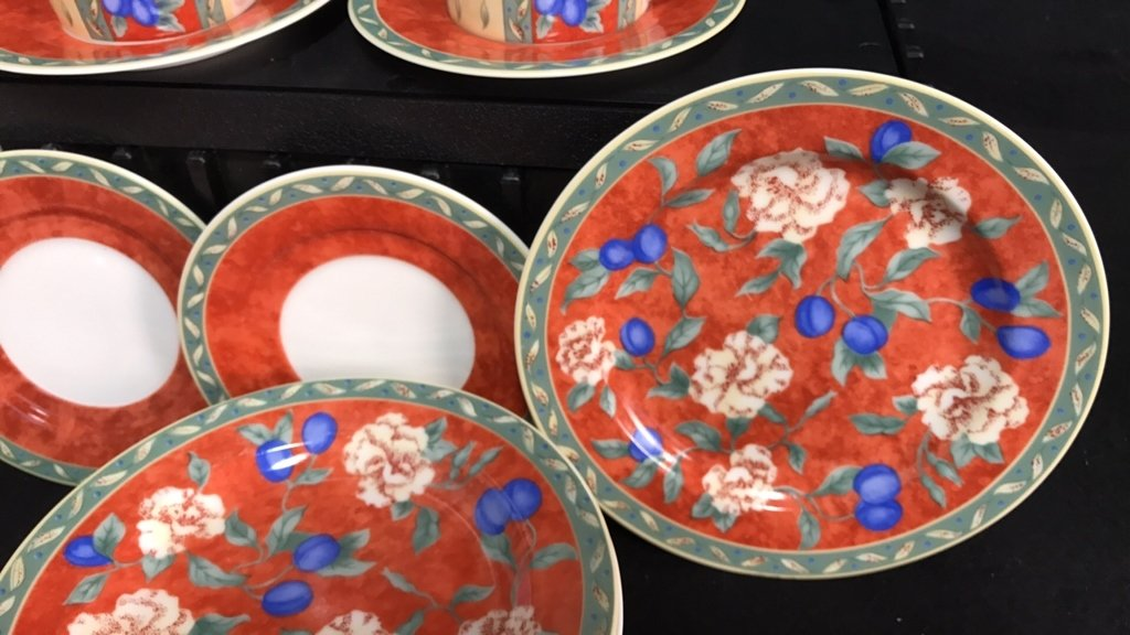 Partial Collection PTS INTERNATIONAL Porcelain - 5
