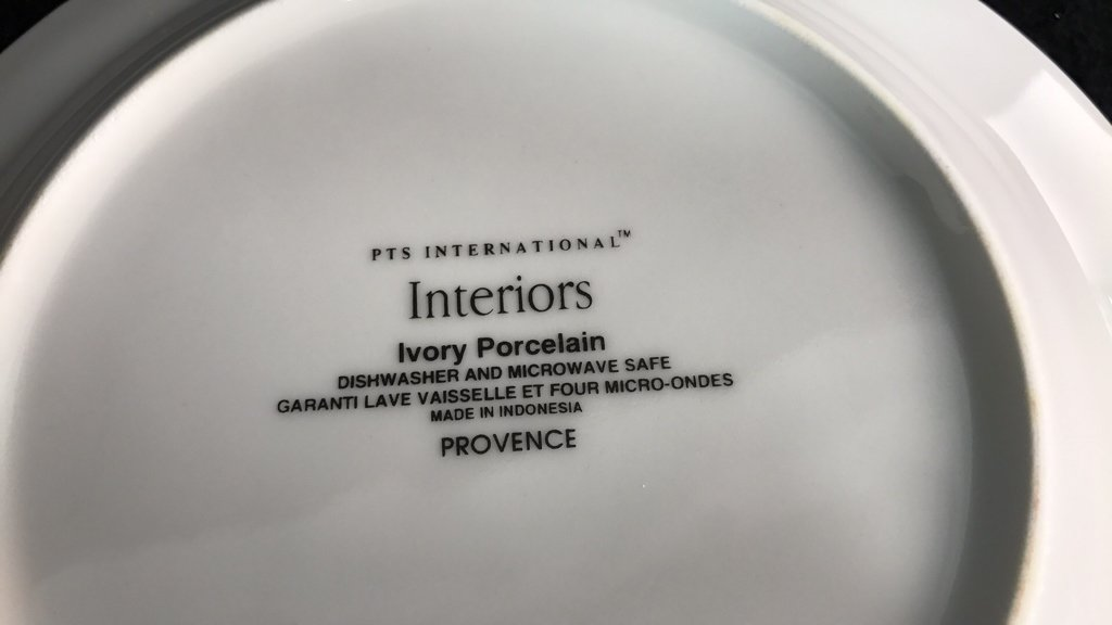 Partial Collection PTS INTERNATIONAL Porcelain - 6