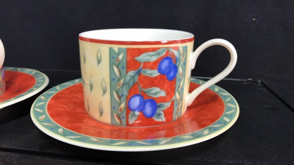 Partial Collection PTS INTERNATIONAL Porcelain - 7
