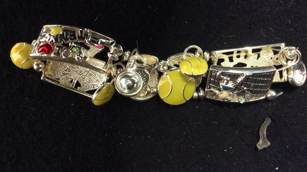 5 NEW Theme Charm Bracelets - 2
