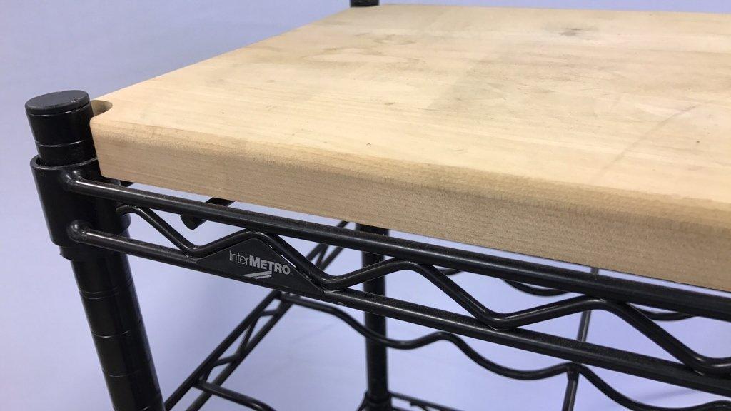 INTERMETRO Industrial Bar Cart - 7