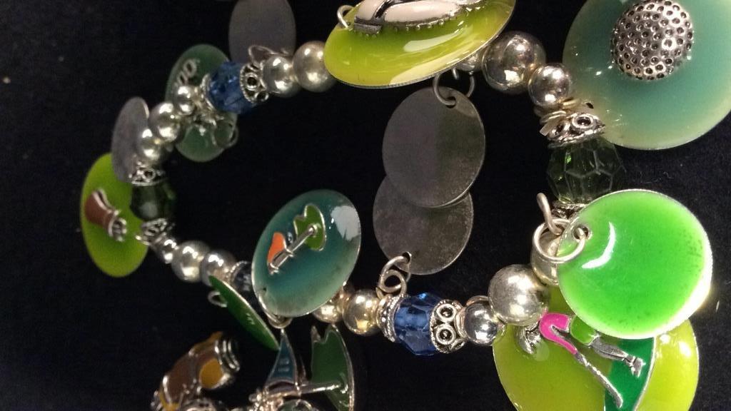 Group 14 NEW Theme Charm Bracelets - 3