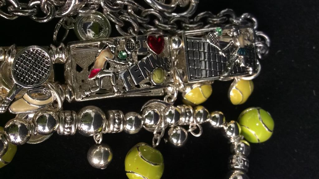 Group 17 Theme Charm Bracelets NEW - 4