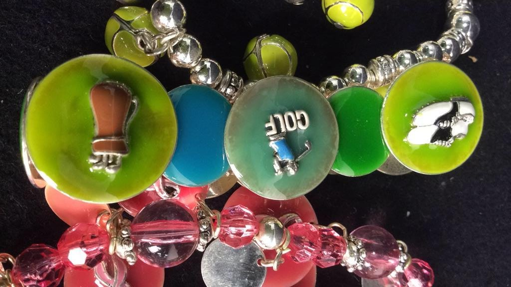 Group 17 Theme Charm Bracelets NEW - 5