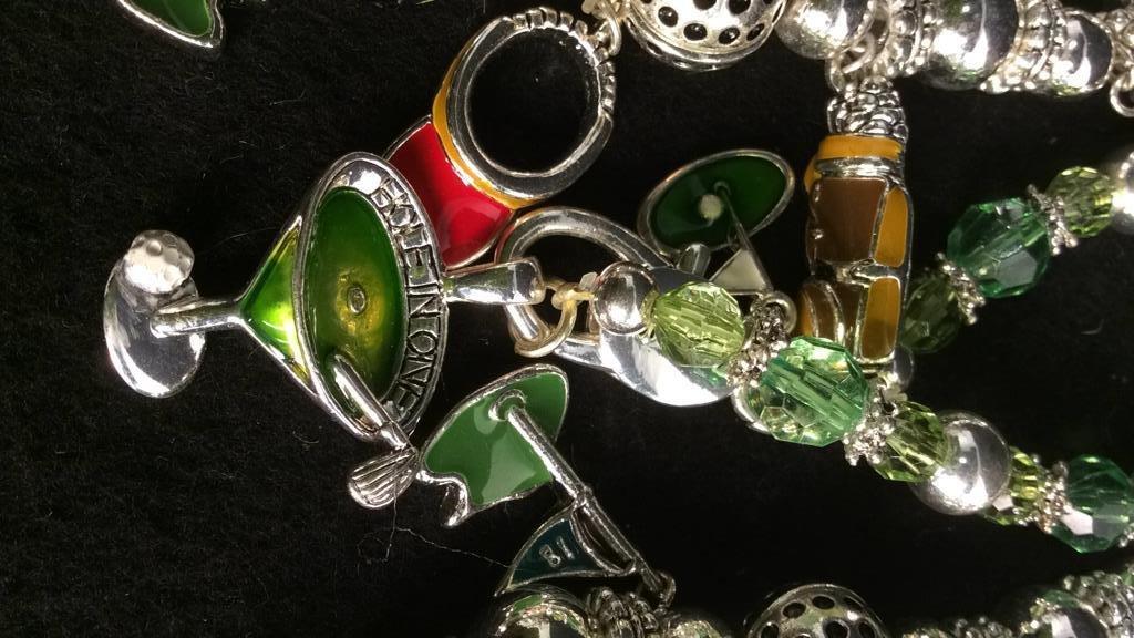 Group 17 Theme Charm Bracelets NEW - 8