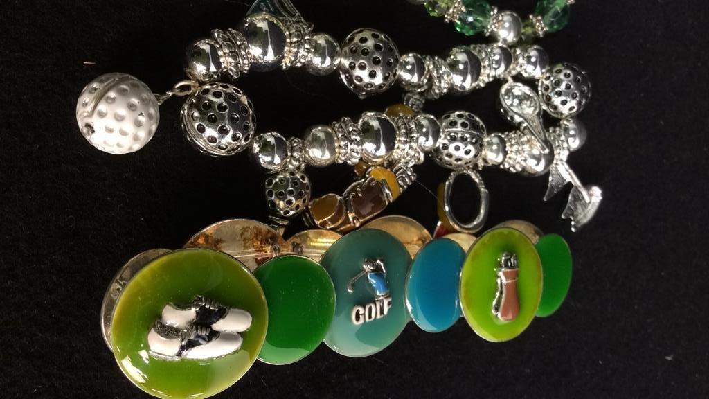 Group 17 Theme Charm Bracelets NEW - 9
