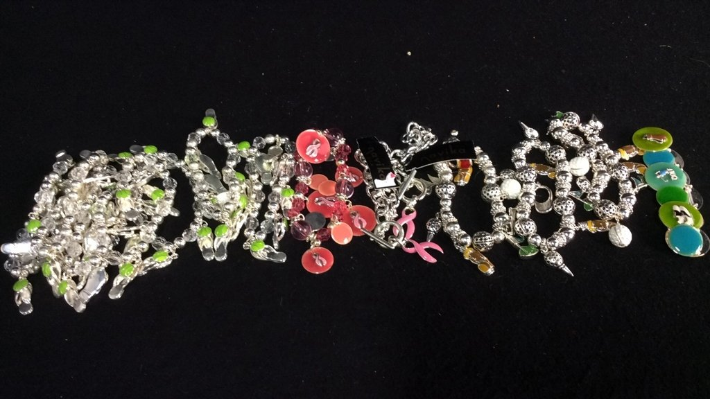 Group 14 NEW Theme Charm Bracelets