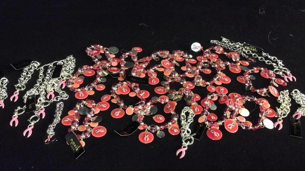 Group 25+ Breast Cancer Awareness Bracelets