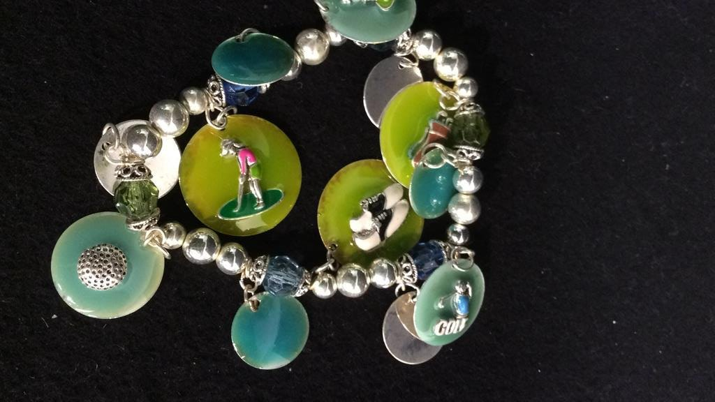 15+ Group NAVIKA USA Golf USA Charm Bracelets - 4