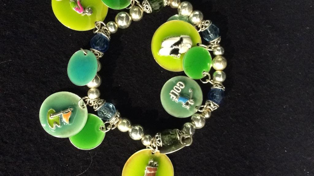 15+ Group NAVIKA USA Golf USA Charm Bracelets - 6