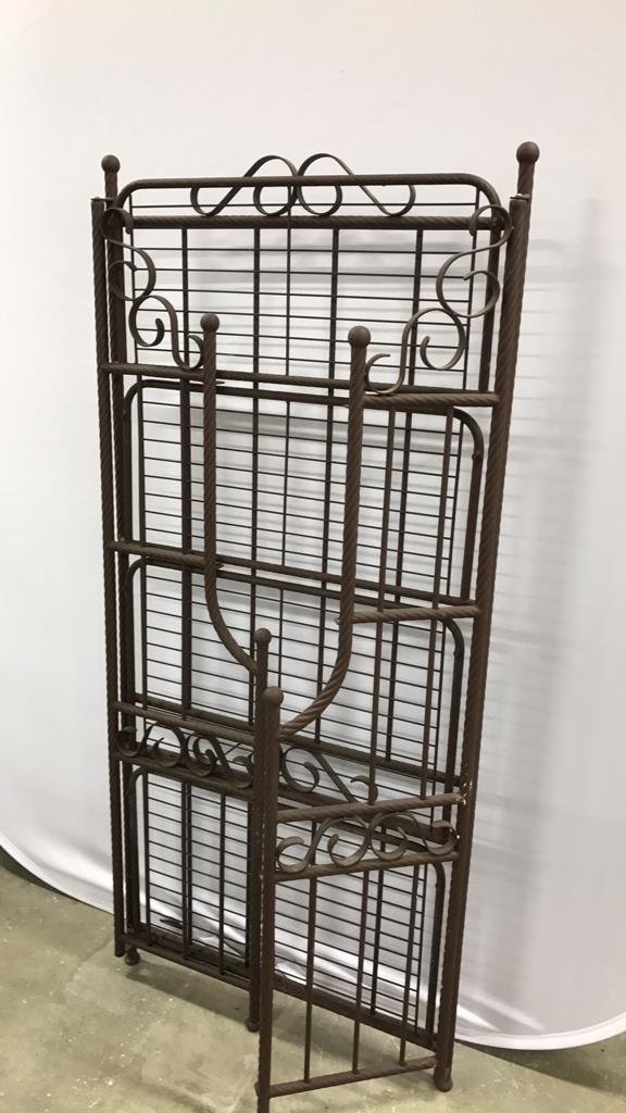 Portable Rustic Style Bakers Rack - 7