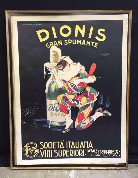 DIONIS GRAFICHE-BERGAMO Framed Art