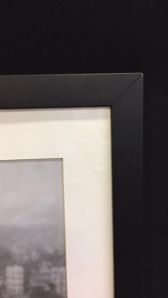 Framed TEE TIME Print Black & White - 5