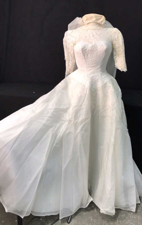 Bergdorf Goodman 1959 Bridal Gown