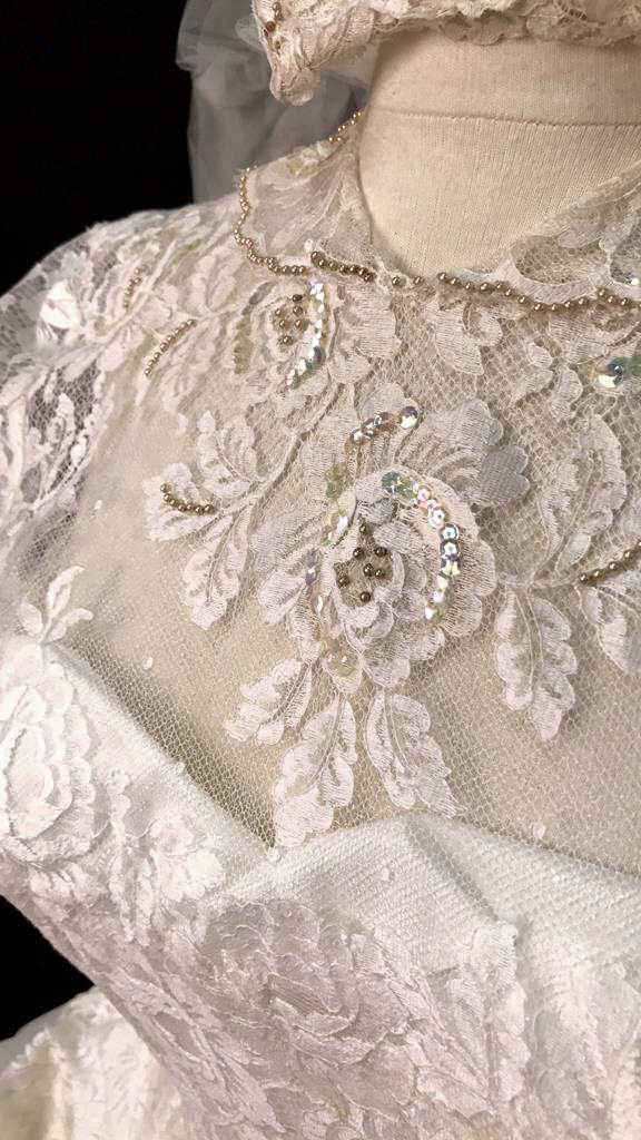 Bergdorf Goodman 1959 Bridal Gown - 3