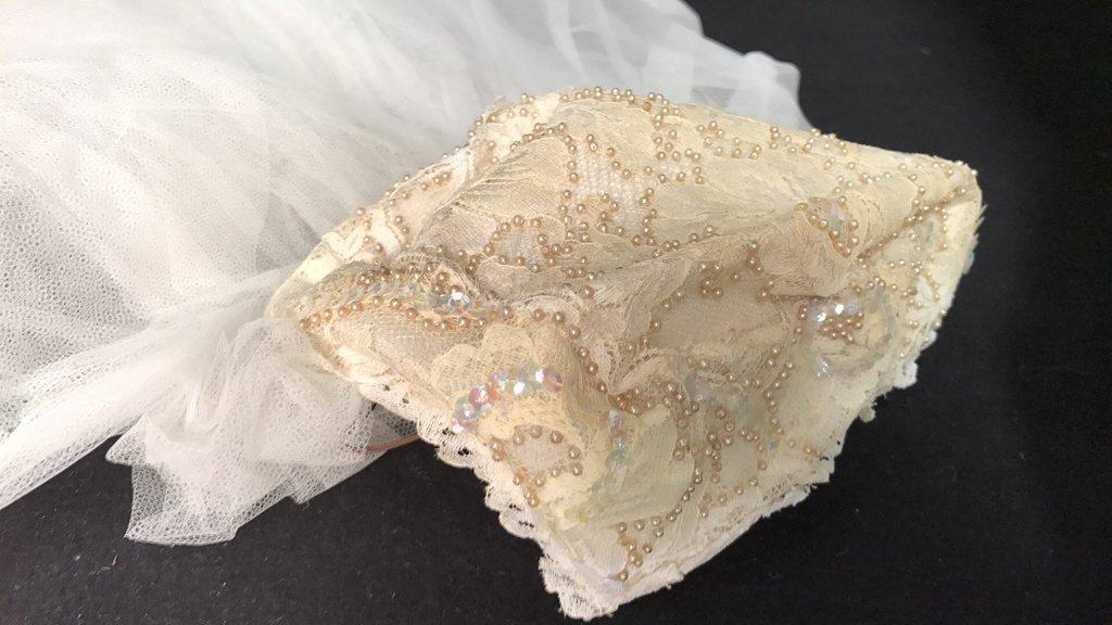 Bergdorf Goodman 1959 Bridal Gown - 5