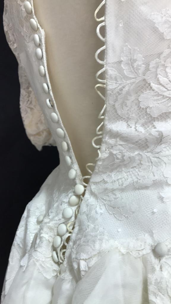 Bergdorf Goodman 1959 Bridal Gown - 6