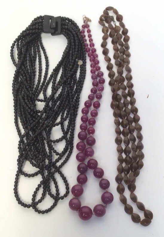 Bohemian Beaded Three Necklaces