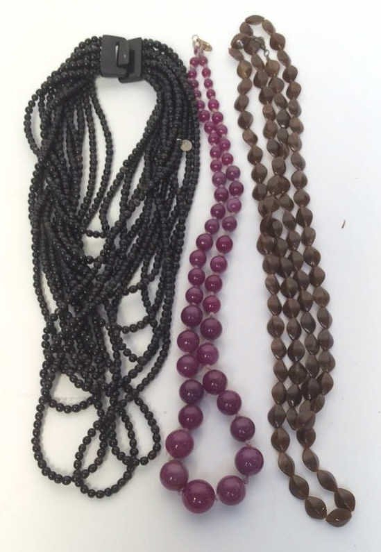 Bohemian Beaded Three Necklaces