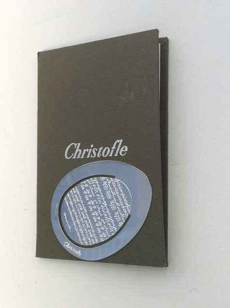 Christofle Page Marker