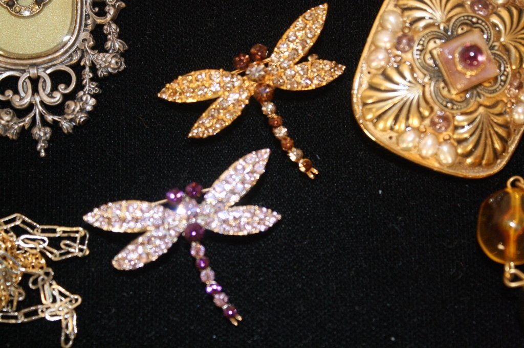 Vintage Jewelry Lot Mixed Finds - 2