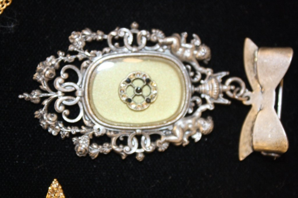 Vintage Jewelry Lot Mixed Finds - 6