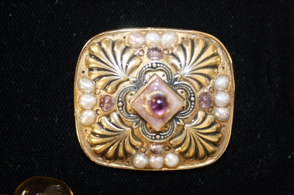 Vintage Jewelry Lot Mixed Finds - 7