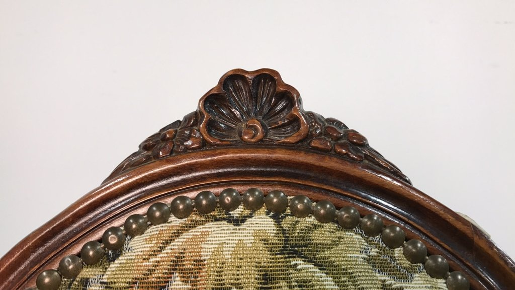 Set Four Antique Louis XVI Side Chairs - 10