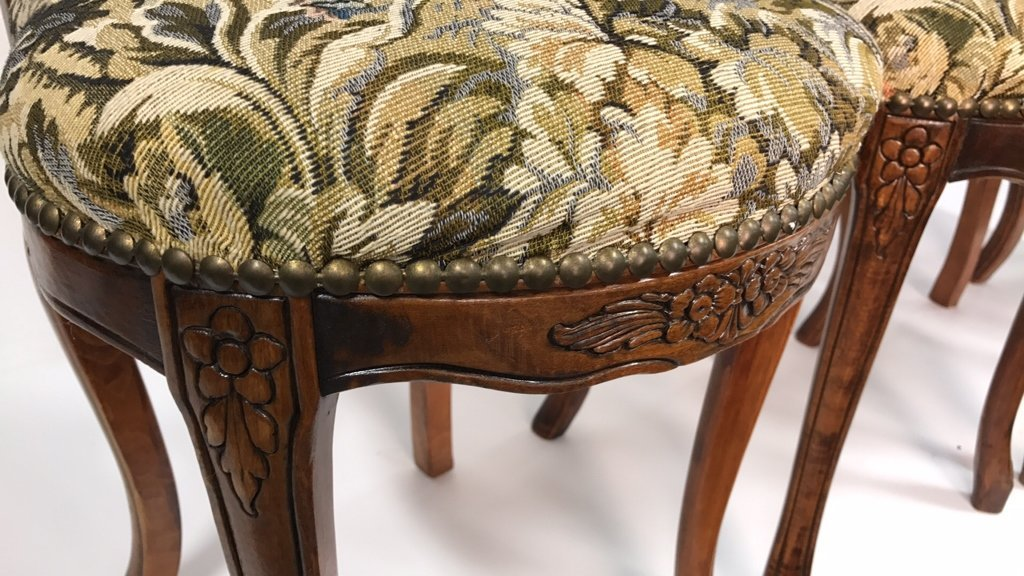 Set Four Antique Louis XVI Side Chairs - 2