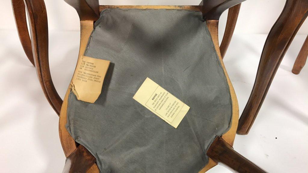Set Four Antique Louis XVI Side Chairs - 7