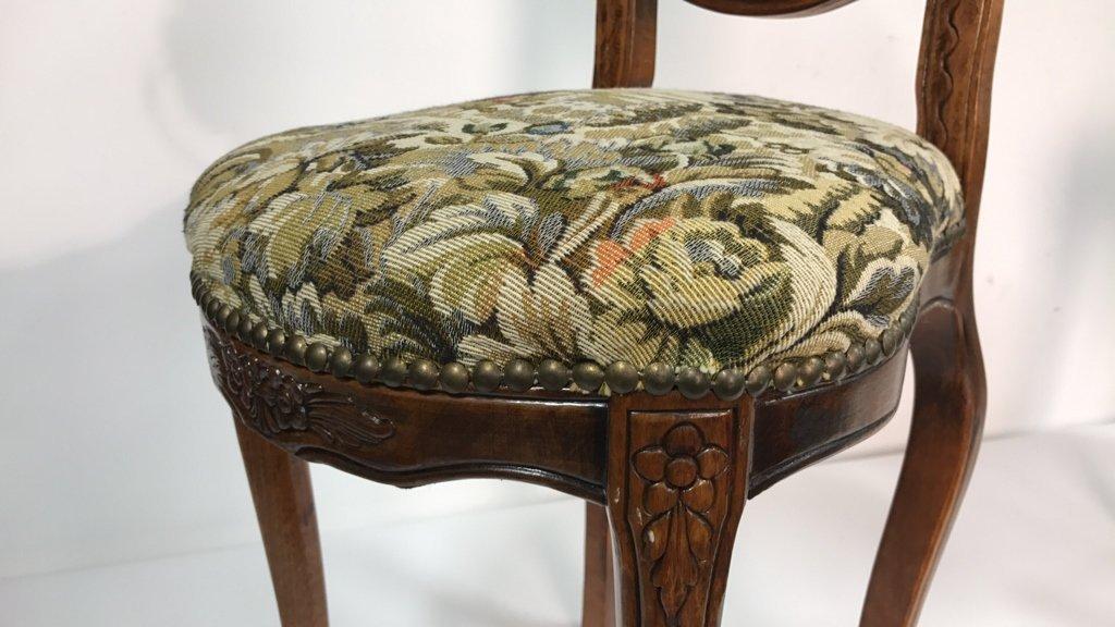 Set Four Antique Louis XVI Side Chairs - 8