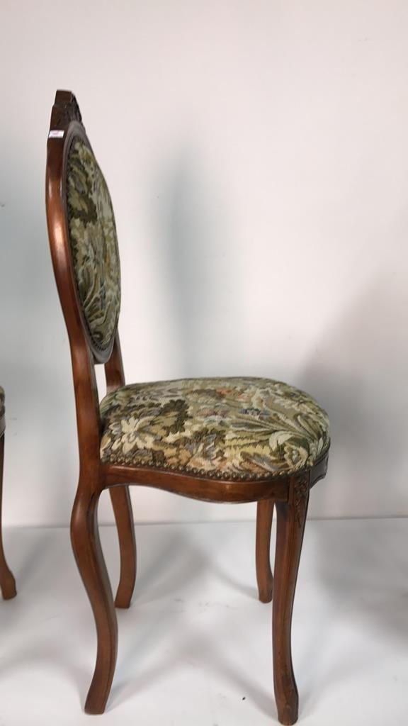 Set Four Antique Louis XVI Side Chairs - 9