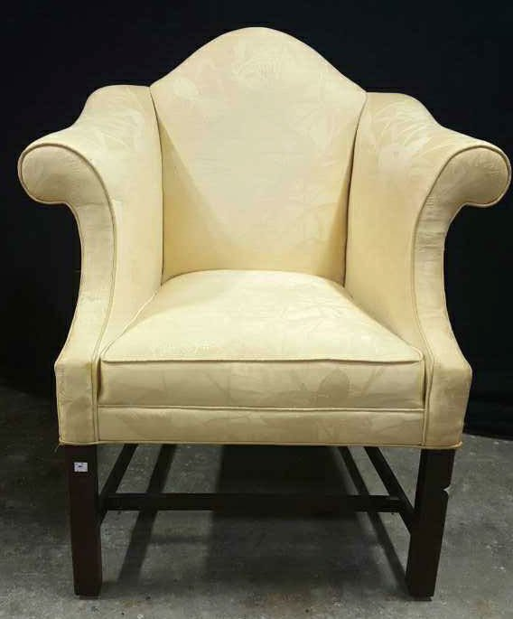 Vintage William and Mary Style Armchair