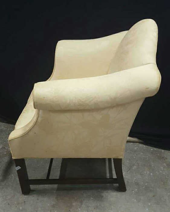 Vintage William and Mary Style Armchair - 4