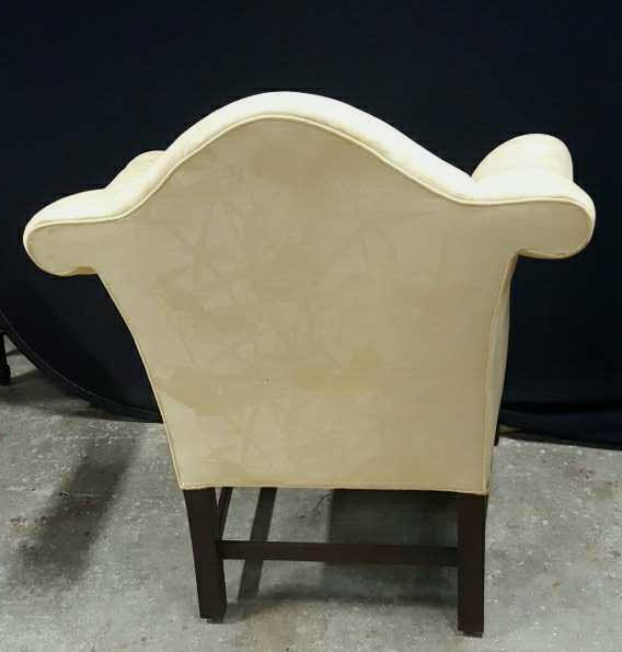 Vintage William and Mary Style Armchair - 6