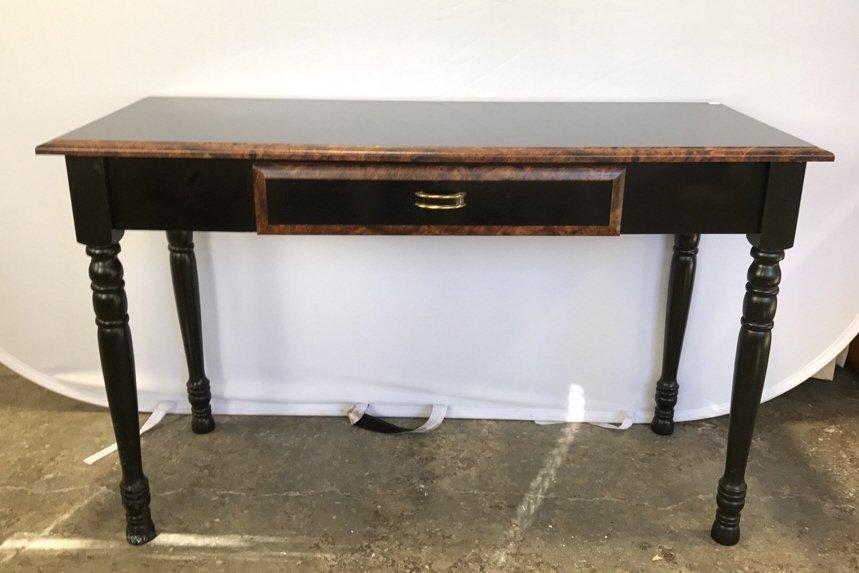 Black Wood Desk/ Console Table