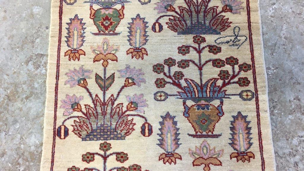 Handmade Mediterranean Style Vintage Runner - 5