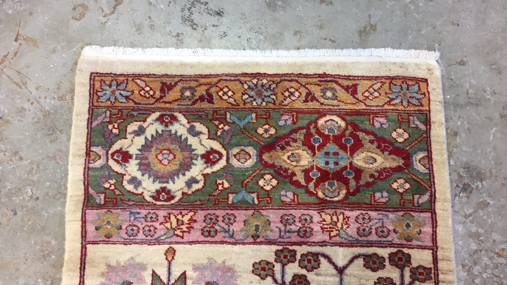 Handmade Mediterranean Style Vintage Runner - 6
