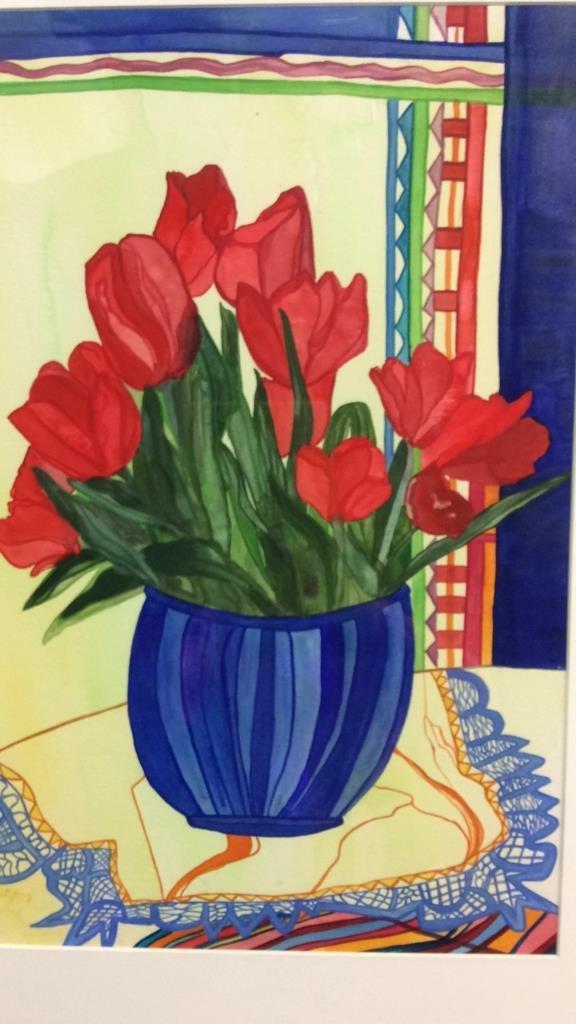 Lita Schwartzberg Tulip Painting
