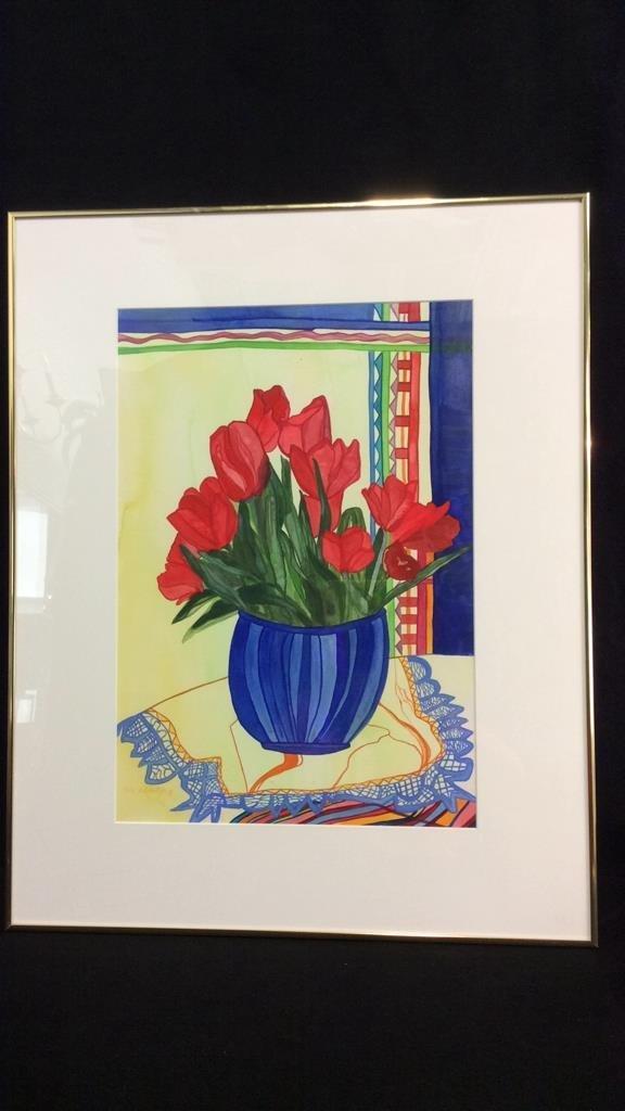 Lita Schwartzberg Tulip Painting - 2