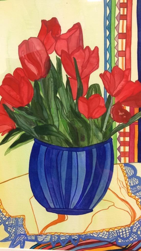 Lita Schwartzberg Tulip Painting - 3