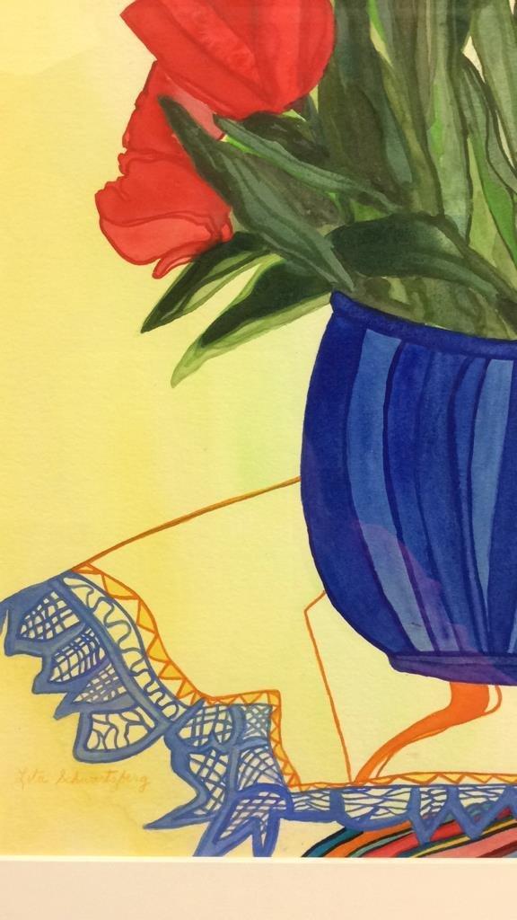 Lita Schwartzberg Tulip Painting - 5