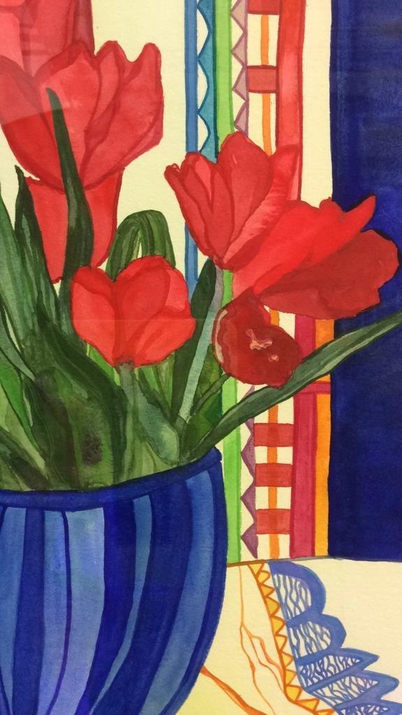 Lita Schwartzberg Tulip Painting - 7