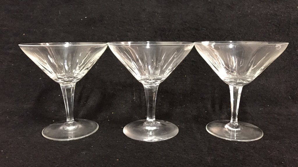 5 Piece Marked Crystal Group Lot - 2