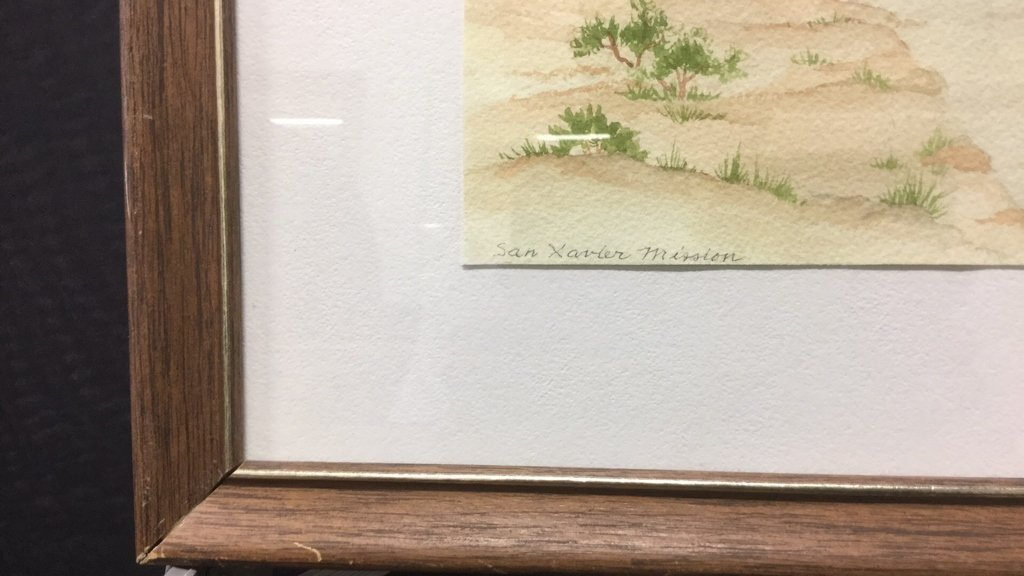 Castle In The Sand Framed Artwork - 5
