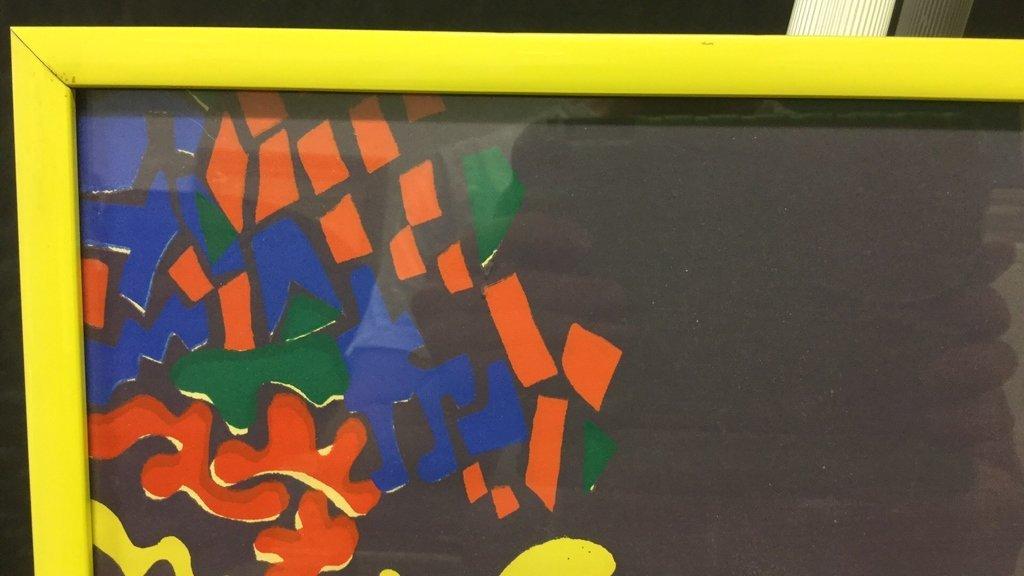 Framed Abstract Pop Out Design Artwork - 4
