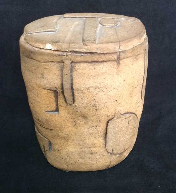 Richard Zakin Ceramic Lidded Vase - 2